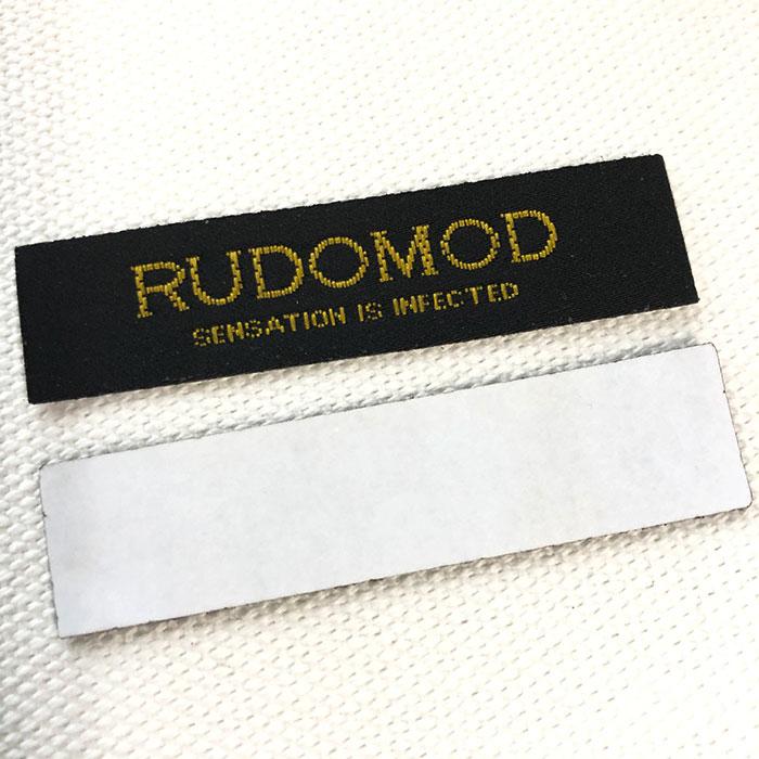 ミシンいらずでタグ付け出来る本格的な刺繍タグ・織ネーム