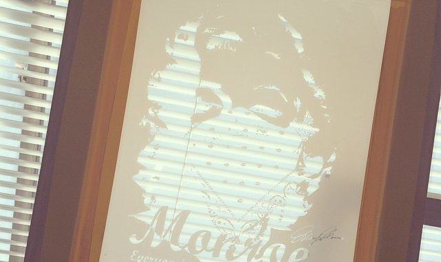 ギャングバンダナマリリンモンローのシルクスクリーン製版