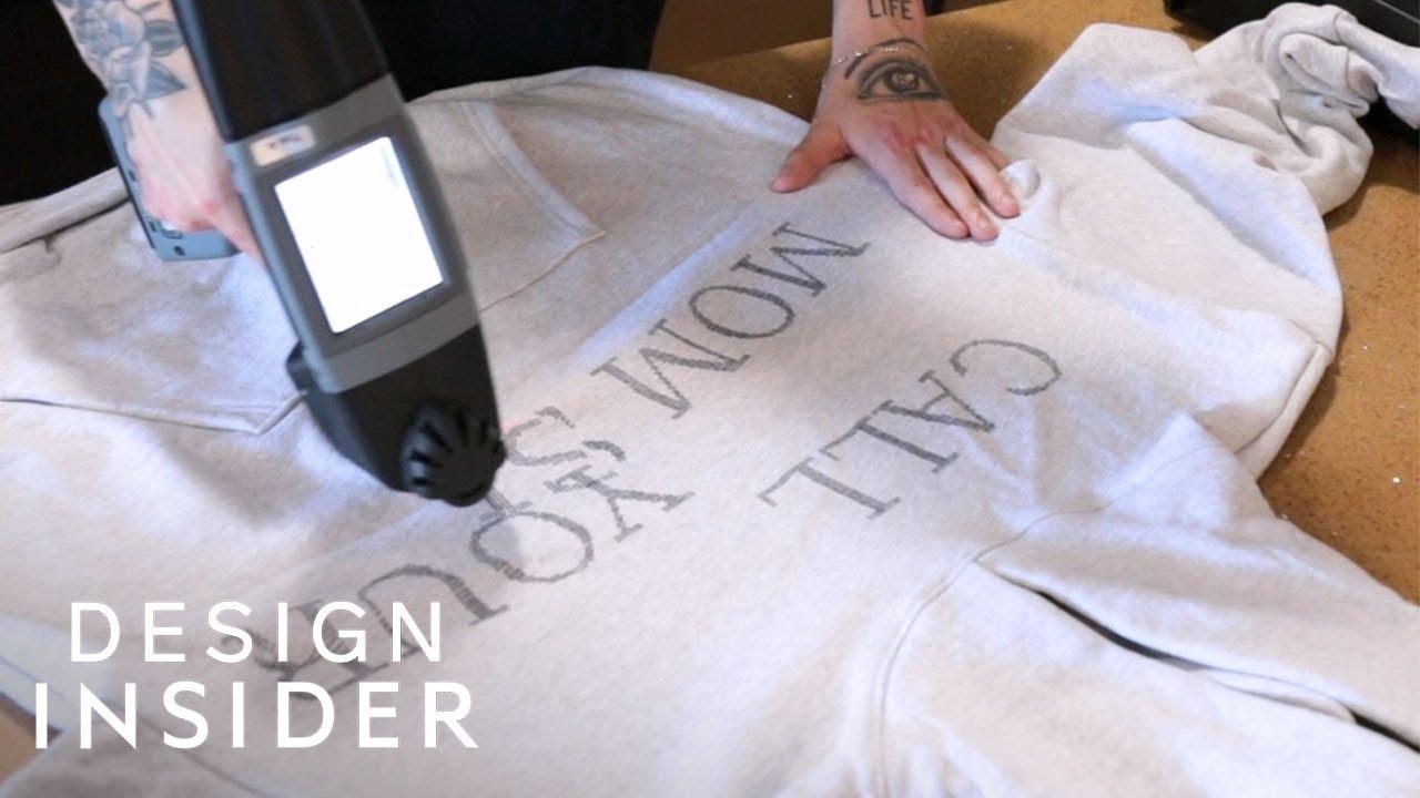 ハンドジェットプリンターを使った裏技/Tシャツ作成方法